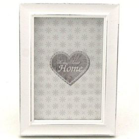 Pamper Hamper - Small Single Photo Frame - White