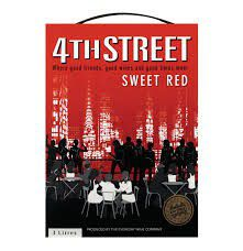 4th Street - Natural Sweet Red - 5 Litre