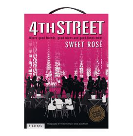 4th Street - Natural Sweet Rose - 5 Litre