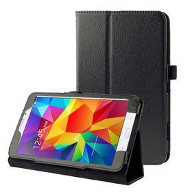 Tuff-Luv Leather case for Samsung Galaxy Tab 4 7.0'' - Black