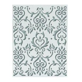 Ultimate Crafts Ooh La La Embossing Folder A2 - Zephyr Flourish