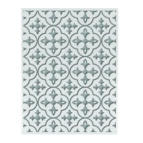 Ultimate Crafts Ooh La La Embossing Folder A2 - Calvin's Quatrefoil