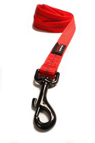 Dog's Life - Reflective Super soft Webbing Collar - Small - Red