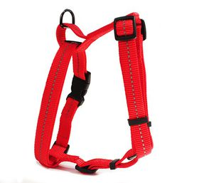 Dog's Life - Reflective Super soft Webbing Step In Harness - Extra-Large - Red