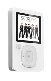 Sinotec 8GB MP3 and Video Player - White