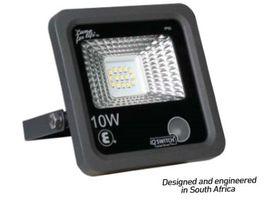 Ellies - 10 Watt LED Flood Light - Black
