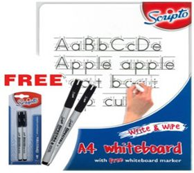 Scripto A4 Whiteboard Value Pack