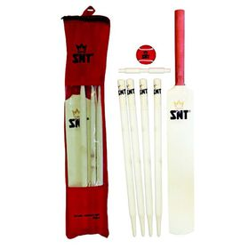 SNT Cricket Set (Size: 4)