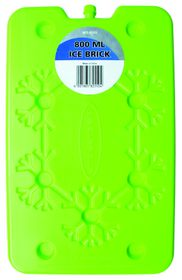 Leisure-quip - Non Toxic Flat Easy Pack Ice Brick- 800ml