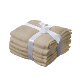 Simon Baker - 100% Egyptian Cotton Hand Towel - Beige