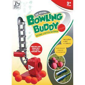 Bowling Buddy Cricket Bat & 5 Eva Soft Balls