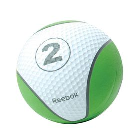 Reebok Studio 2kg Medicine Ball - Green