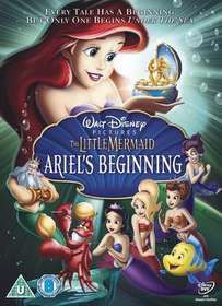 The Little Mermaid- Ariel's Beginning (DVD)