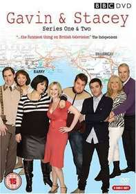 Gavin & Stacey Series 1 & 2 Box Set (DVD)