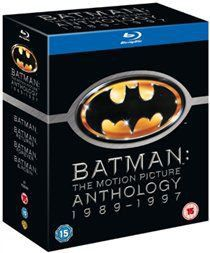 Batman: The Motion Picture Anthology 1989-1997 (Blu-ray)