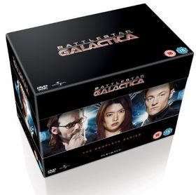 Battlestar Galactica: The Complete Series (Import DVD)