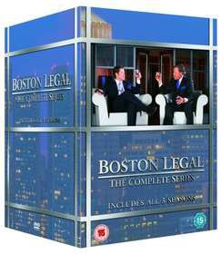 Boston Legal Complete Series 1 - 5 (DVD)