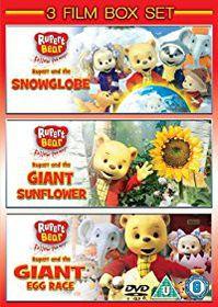 Rupert The Bear Bumper Edition - 3 Film Boxset (DVD)