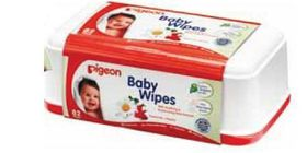 Pigeon - Baby Wipes 82'S With Chamomile Tub