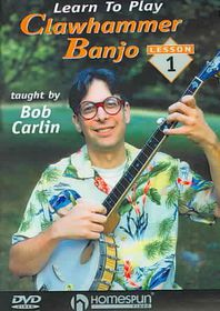 Learn to Play Clawhammer Banjo - (Region 1 Import DVD)