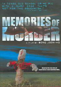 Memories of Murder - (Region 1 Import DVD)