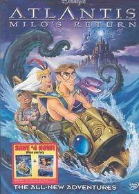 Atlantis:Milo's Return - (Region 1 Import DVD)