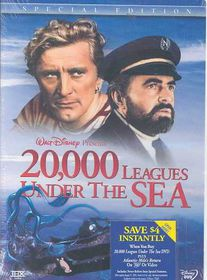 20,000 Leagues Under the Sea - (Region 1 Import DVD)
