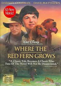 Where the Red Fern Grows - (Region 1 Import DVD)