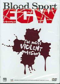 Blood Sport Ecw:Most Violent Matches - (Region 1 Import DVD)