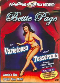 Bettie Page:Varietease/Teaserama - (Region 1 Import DVD)