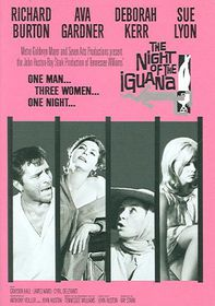 Night of the Iguana - (Region 1 Import DVD)