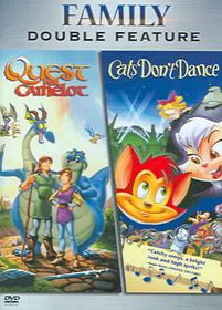 Quest for Camelot/Cat's Don't Dance - (Region 1 Import DVD)
