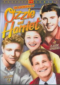 Adventures Of Ozzie And Harriet Vol 3 - (Region 1 Import DVD)