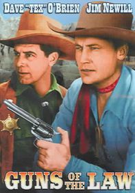 Guns of the Law - (Region 1 Import DVD)