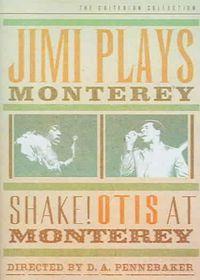 Jimi Plays Monterey/Shake! Otis at Monterey - (Region 1 Import DVD)