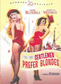 Gentlemen Prefer Blondes - (Region 1 Import DVD)