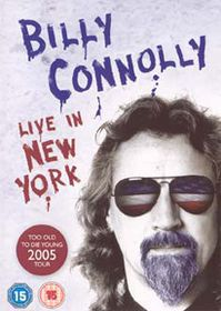 Billy Connolly - Live In New York (Import DVD)