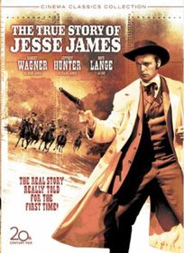 True Story of Jesse James - (Region 1 Import DVD)