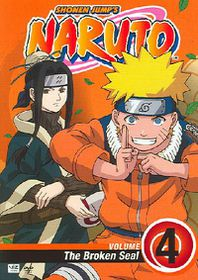 Naruto Vol 4 - (Region 1 Import DVD)