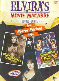 Elvira's Movie Macabre - Count Dracula's Great Love/Frankenstein's Castle of Freaks - (Region 1 Import DVD)