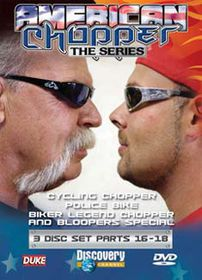 American Chopper Parts 16-18 (3 Discs) - (Import DVD)