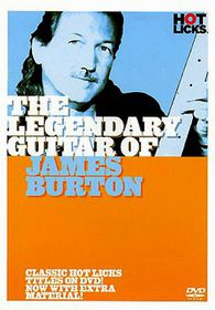 James Burton-Legendary Guitar - (Import DVD)