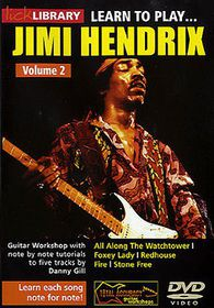 Learn To Play Jimi Hendrix 2 - (Import DVD)