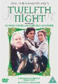 Twelfth Night (Richard Briers) - (Import DVD)