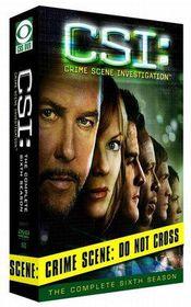 CSI: Crime Scene Investigation - The Complete Sixth Season - (Region 1 Import DVD)