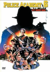Police Academy 6: City Under Siege - (DVD)