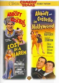 Abbott & Costello - Lost in a Harem/Abbott & Costello in Hollywood - (Region 1 Import DVD)