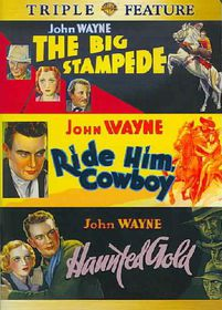 Big Stampede/Ride Him Cowboy/Haunted - (Region 1 Import DVD)