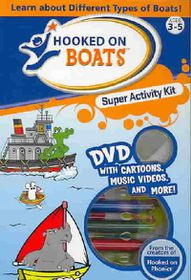 Hooked on Boats Super Activity Kit - (Region 1 Import DVD)