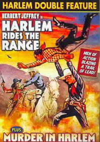 Murder in Harlem/Harlem Rides the Range - (Region 1 Import DVD)